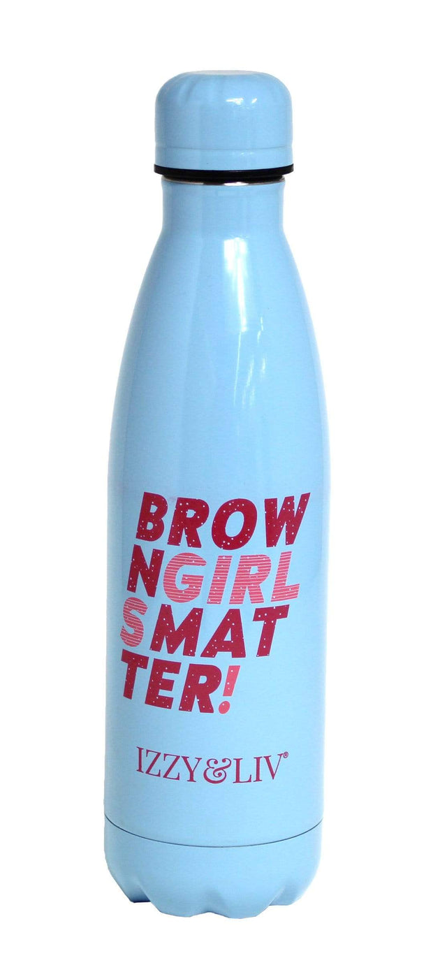 Brown Girls Matter Water Bottle/Thermos (5 Colors) - Izzy & Liv - mug
