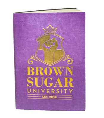 Brown Sugar University Leather Bound Journal (2 Colors) - Izzy & Liv - notebook