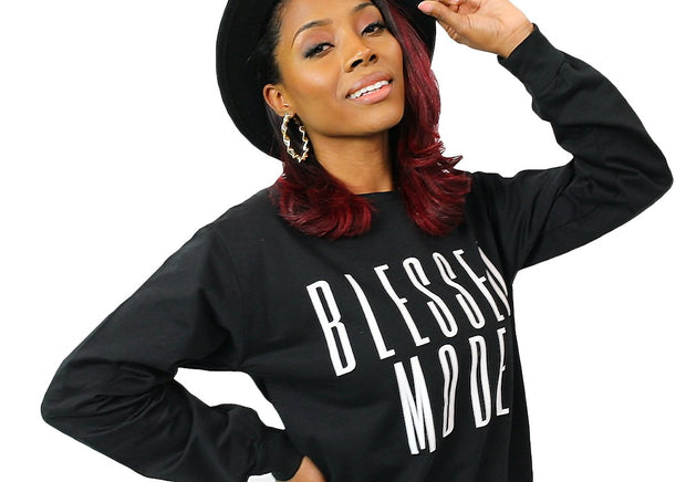 Blessed Mode Lightweight Sweatshirt