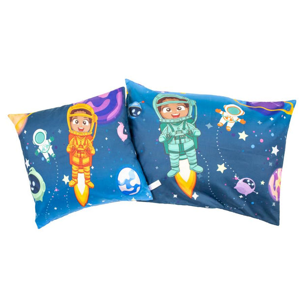 Up, Up, And Away Pillowcase + Cover Set