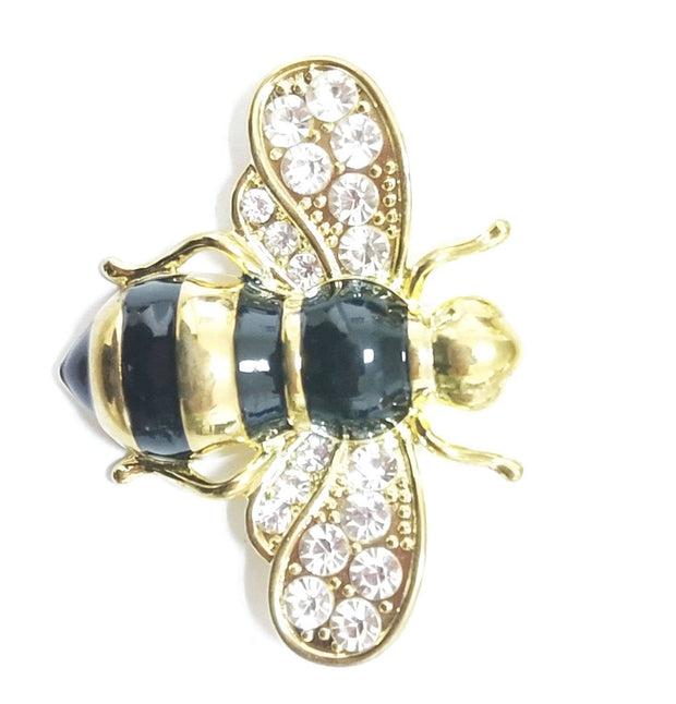 Rumble With The Bee Brooch