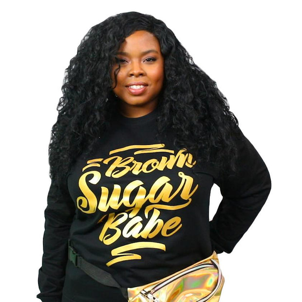 Brown Sugar Babe Lightweight Sweatshirt