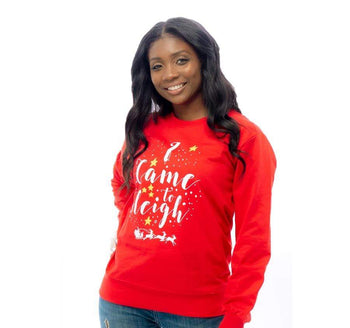 I Came To Sleigh Lightweight Sweatshirt