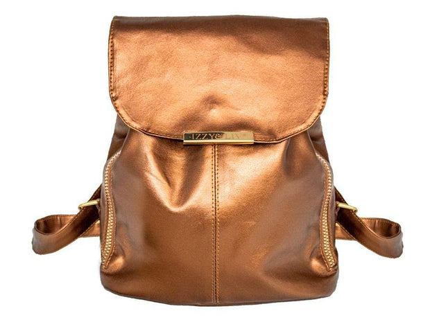 Vegan Leather Backpack - Izzy & Liv - tote bag