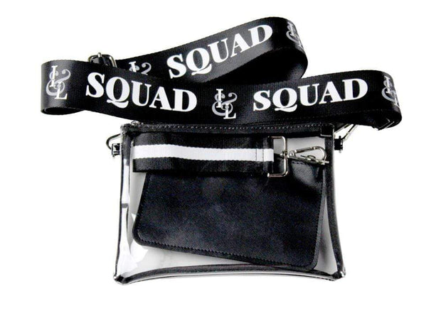2-in-1 Crossbody Stadium Bag - Izzy & Liv - tote bag