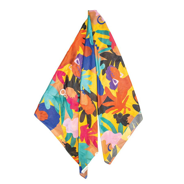 Cultured Queens Illustrated Versatile Scarf