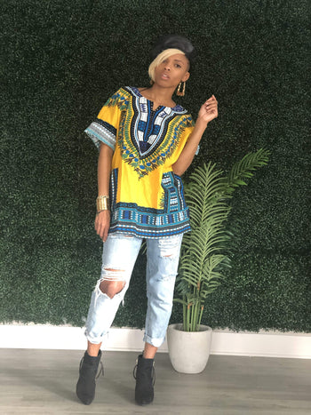 Dashiki (5 Colors)