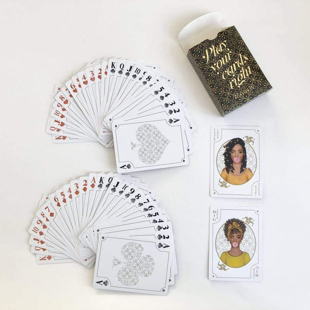 """Play Your Cards Right"" Cards - Izzy & Liv - Accessories"