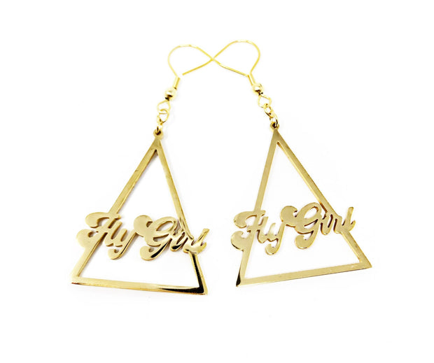 """Fly Girl"" Earrings"