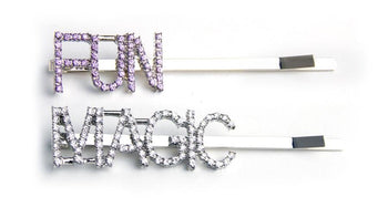 Magic/Fun Bedazzled Hair Pin Set