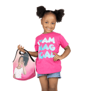 Brown Sugar 'Lil Girl Lunch Tote - Izzy & Liv - tote