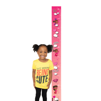 Superstar Princess Growth Chart Decal