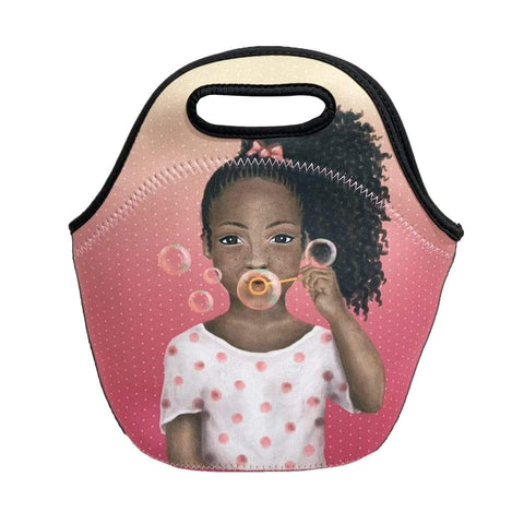 Brown Sugar 'Lil Girl Lunch Tote