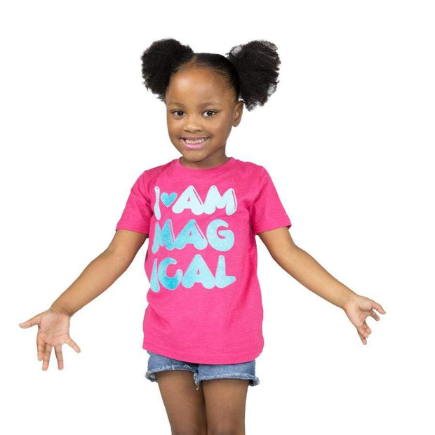 I Am Magical Girls Tee - Izzy & Liv - kid tee