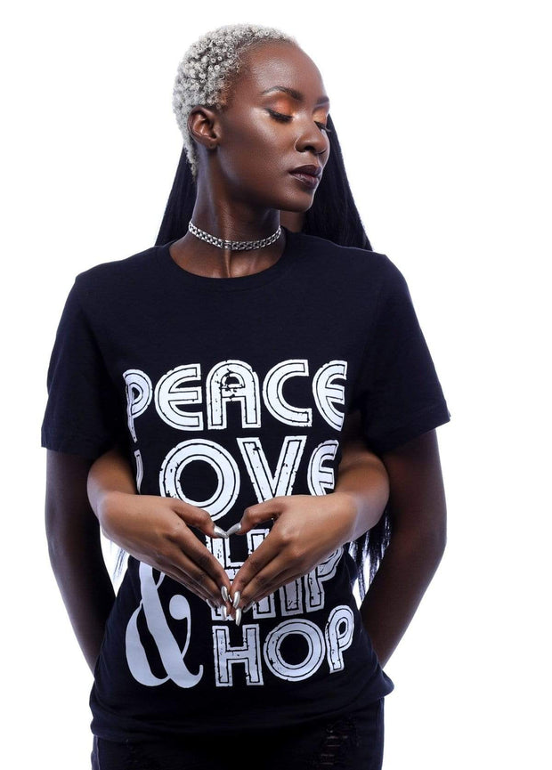 Peace, Love Hip Hop  T-Shirt