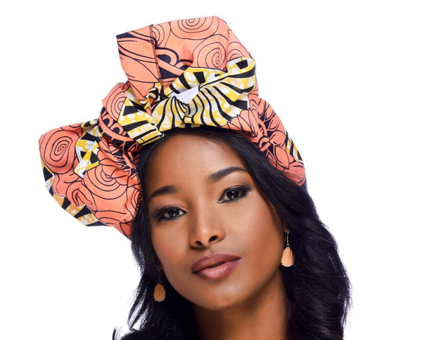 Ankara Print Headwrap (Multiple Colors)
