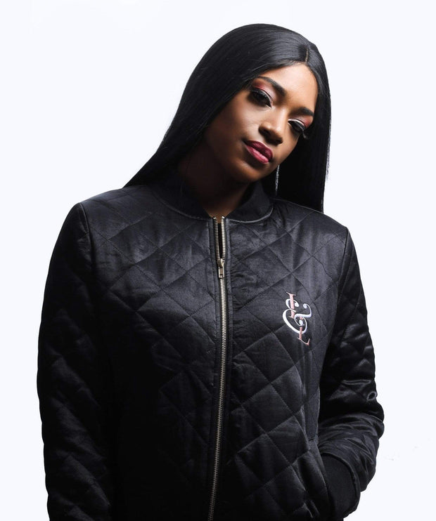 I&L Quilted Bomber Jacket