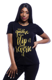 I Put My Game Down Flip It T-Shirt - Izzy & Liv - graphic tee