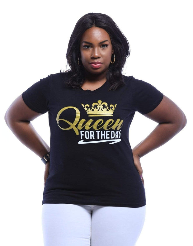 Queen For The Day T-Shirt - Izzy & Liv - graphic tee