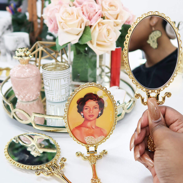 Iconcally Glam Handheld Mirror