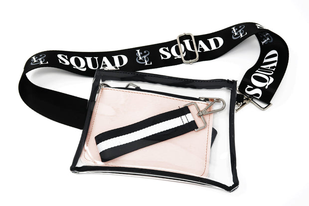 2-in-1 Crossbody Stadium Bag