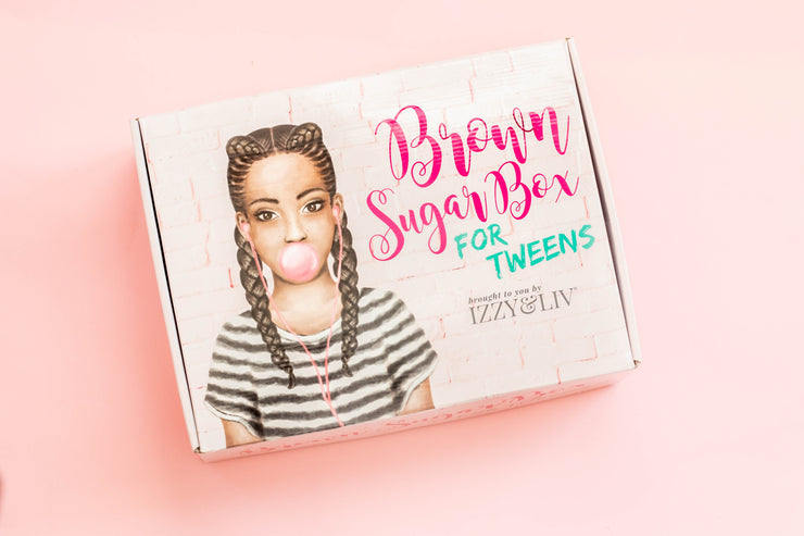 One Time Gift - Tween Girls Edition Brown Sugar Box (Ages 9-14) (One Box Only)