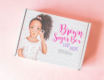 4 Boxes (1 Year) Gift Subscription - Little Girls Edition Brown Sugar Box (Ages 4-9) (QUARTERLY)