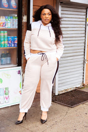 IL Color Block Sweat Suit (Top) - Izzy & Liv - sweatsuit