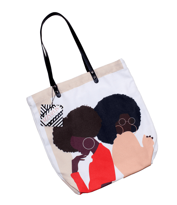 Squad Black Girl Magic Tote Bag