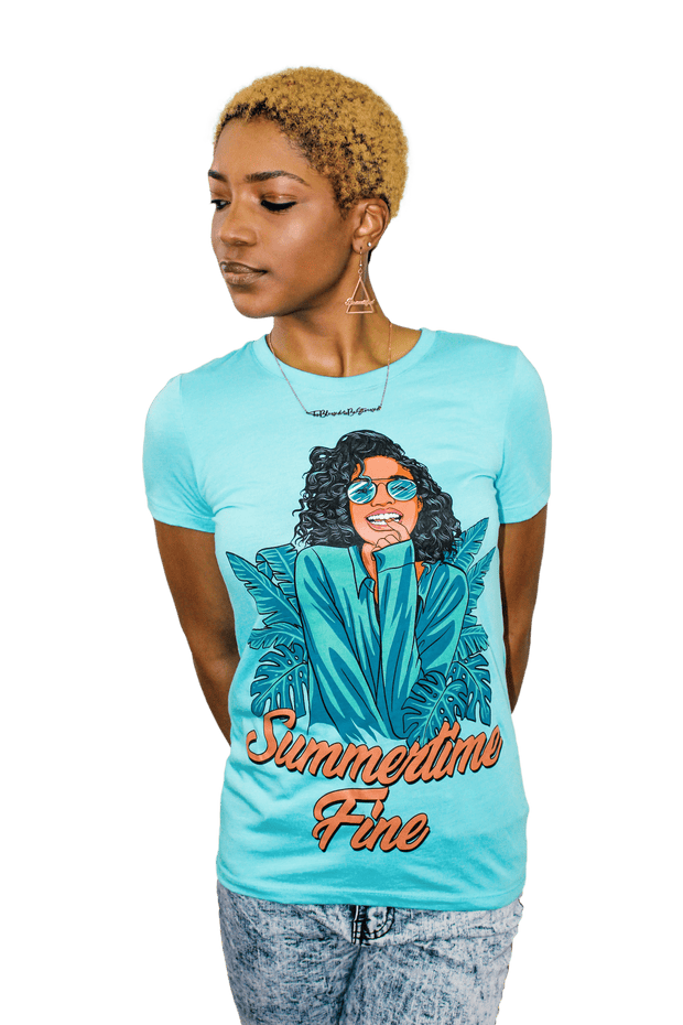 Summertime Fine T-shirt - Izzy & Liv - graphic tee