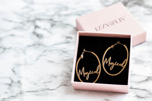 """Magical"" Earrings"