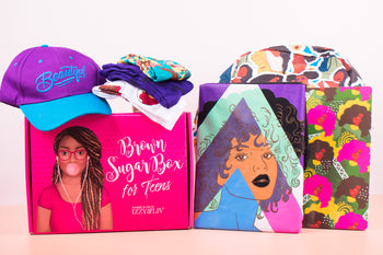 6 Boxes (1 Year) Gift Subscription - Teen Girls Edition Brown Sugar Box (Ships Every Other Month)