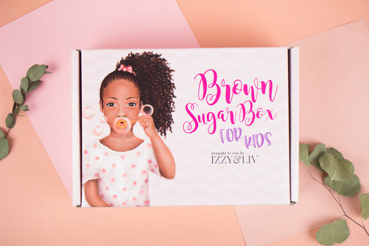 One Time Gift - Little Girls Edition Brown Sugar Box (Ages 4-9)(One Box Only)