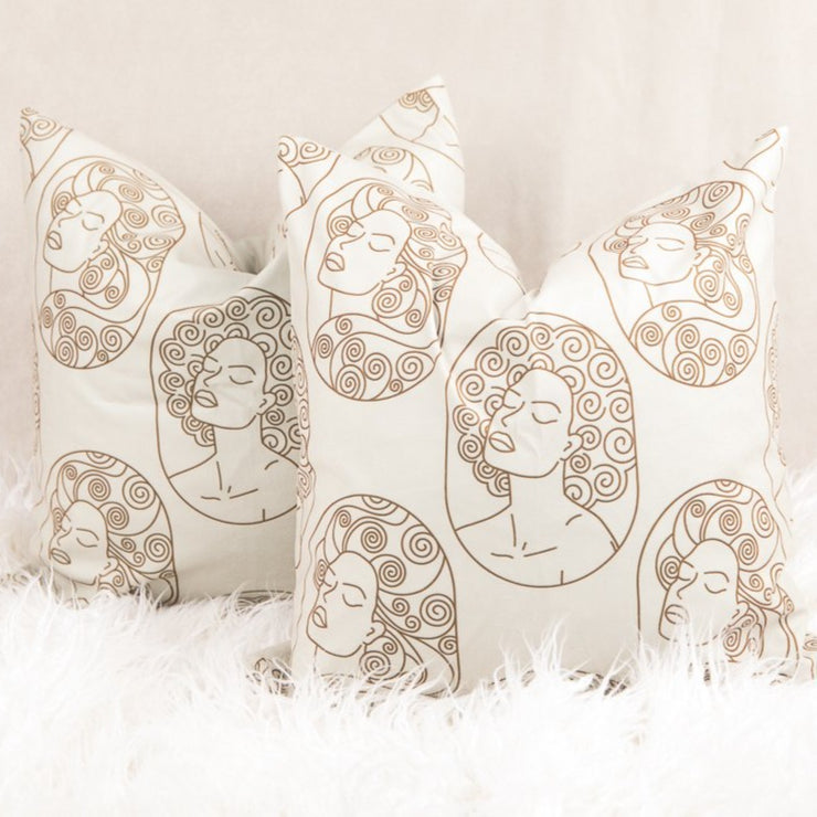 So Beautiful Throw Pillow Cover