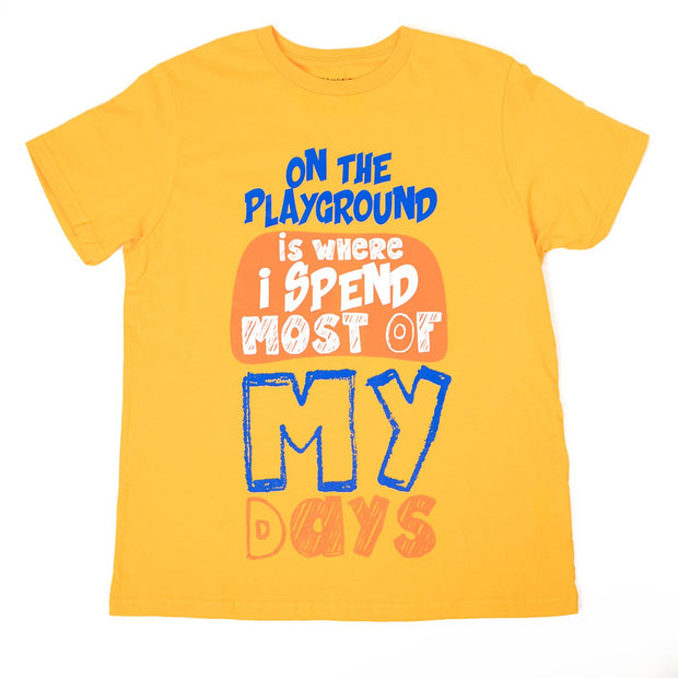 Playground Chillin Boys T-Shirt