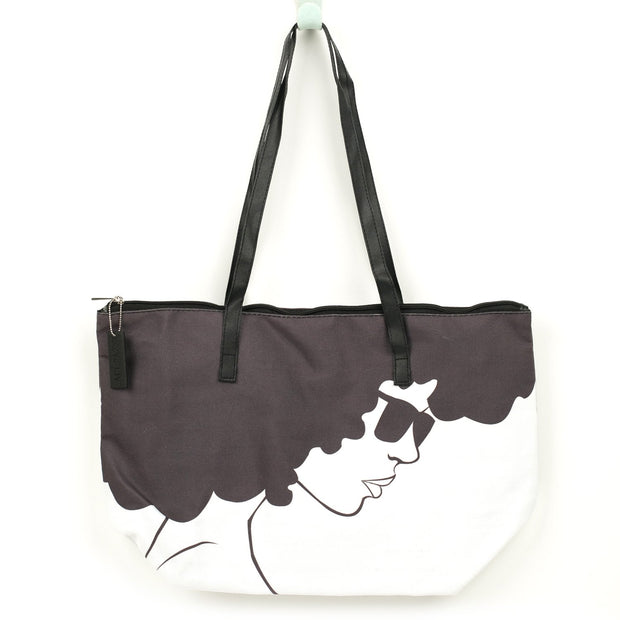 Queenin' Canvas Tote