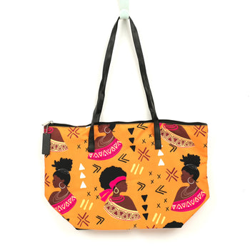 Motherland Queens Canvas Tote