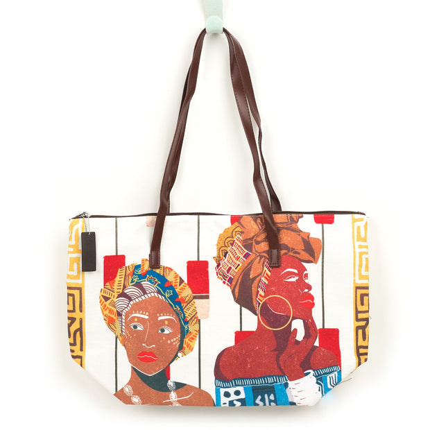 Queen and Things Canvas Tote