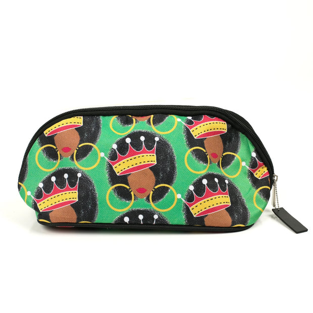 Afro Queen Cosmetic Bag