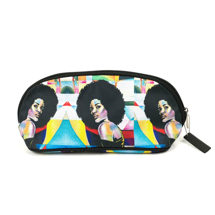 Afro Allure Cosmetic Bag
