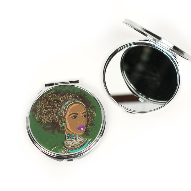 Style and Grace Compact Mirror
