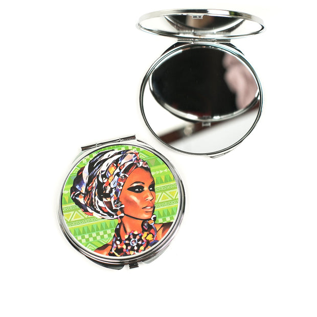 Culture Compact Mirror
