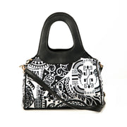 Paisley Beauty Tribal Print Canvas Handbag