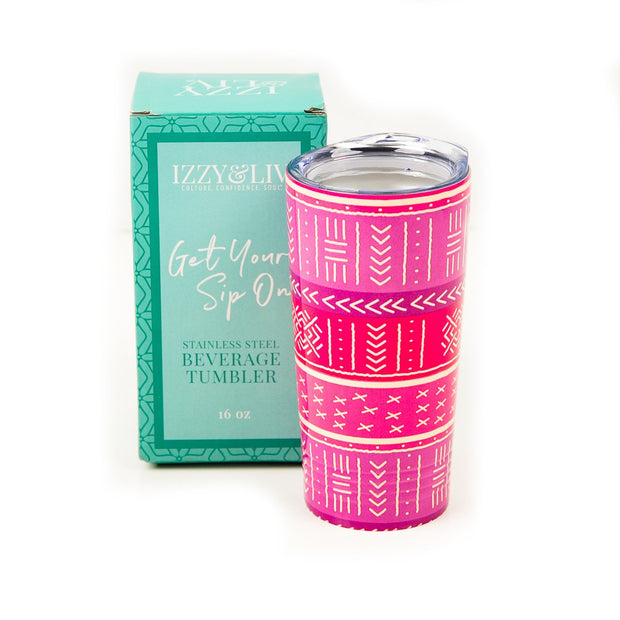 "Pretty & Primed ""Sip in Peace"" Hot/Cold Tumbler"