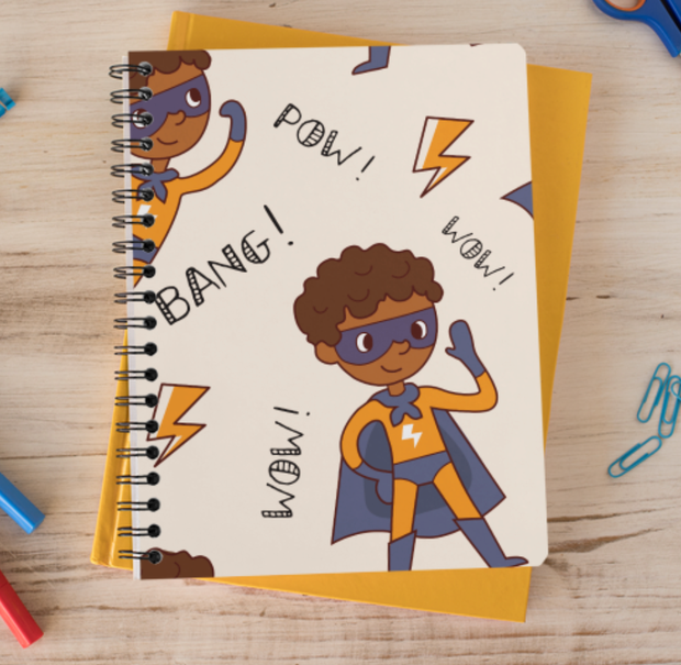 Pow! Wow! Bang! Notebook