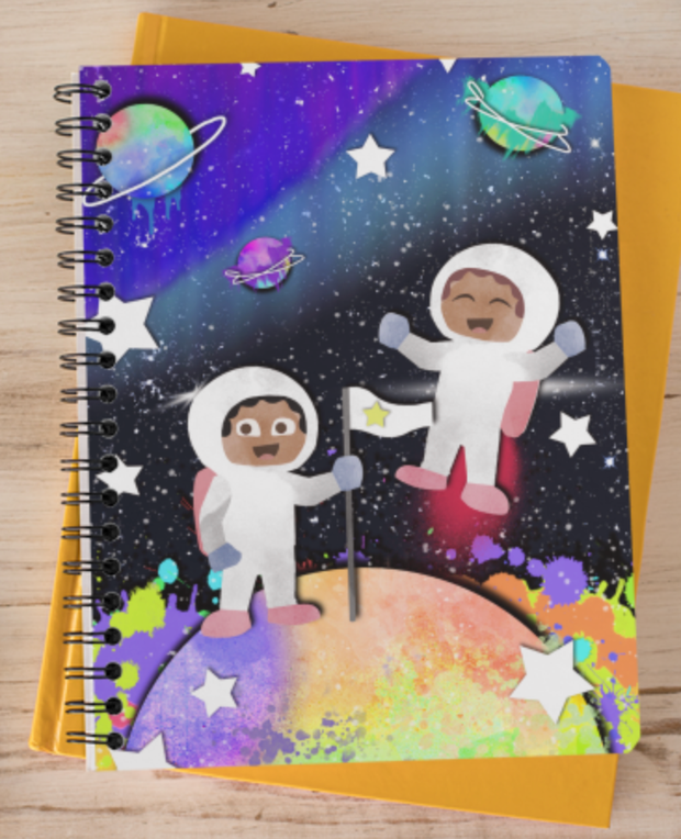 Reaching for the Stars Notebook