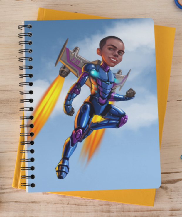 Rocket Boy Notebook