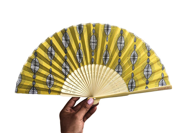 Tribal Queen Bamboo Hand Fan