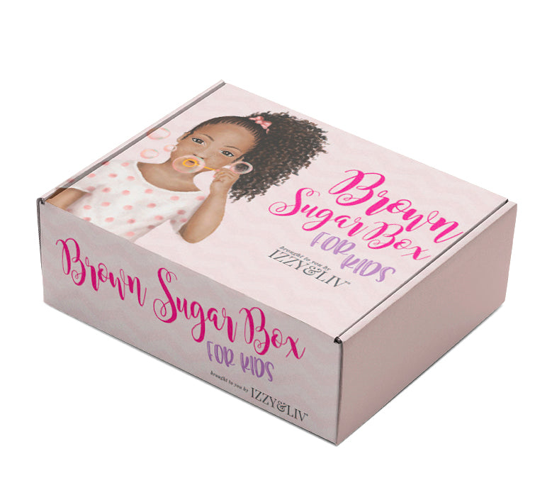 Little Girls Edition Brown Sugar Box (QUARTERLY - Ages 4-9)