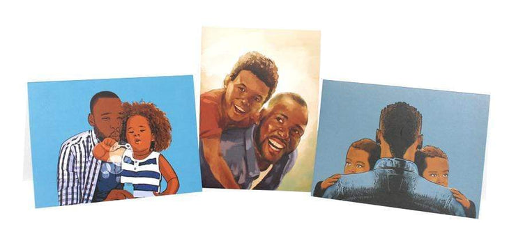 Father's Day Greeting Card Set